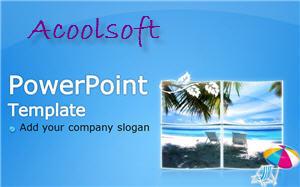 Capture d'écran Acoolsoft Free PowerPoint Template