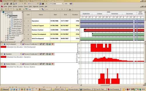 Capture d'écran Asta Powerproject