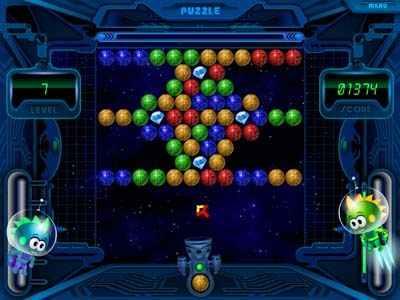 Capture d'écran Shooting Balls Gallery