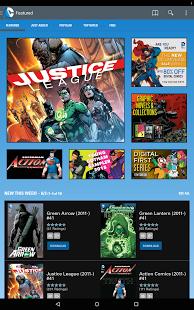 Capture d'écran DC Comics