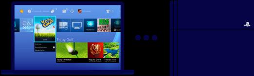 Capture d'écran Sony Remote Play (Lecture à Distance)