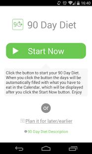 Capture d'écran 90 Day Diet