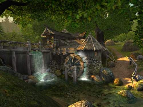 Capture d'écran Watermill 3D Screensaver