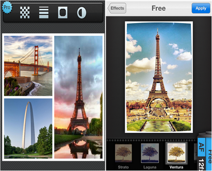 Capture d'écran Pic Stitch iOS
