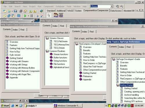 Capture d'écran CompressionMaster Suite