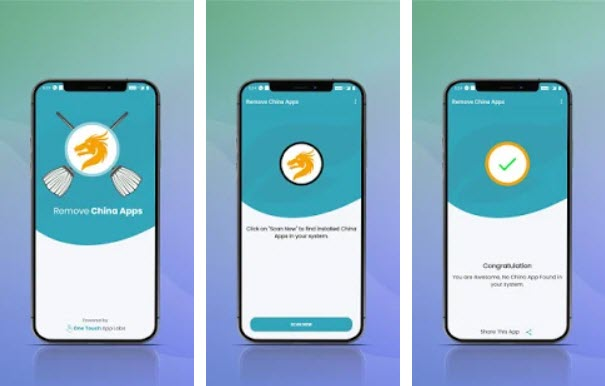 Capture d'écran Remove China Apps Android