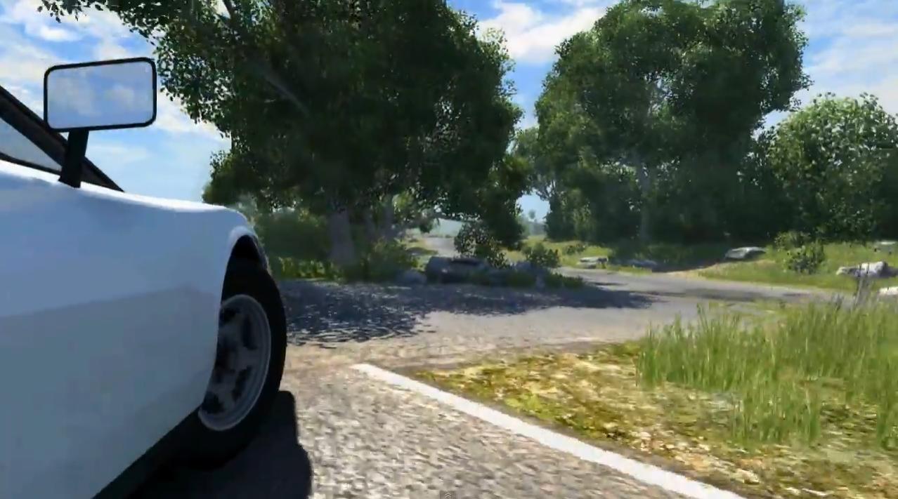 Capture d'écran BeamNG Drive