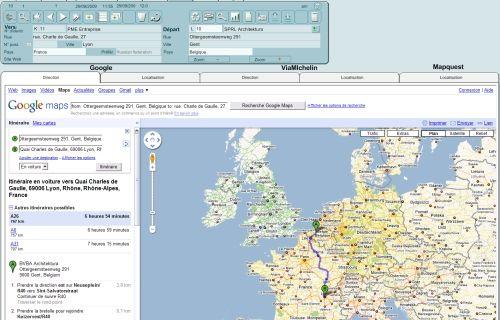 Capture d'écran 4ASoft Agenda