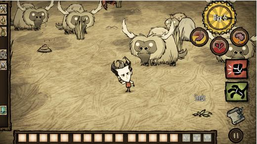 Capture d'écran Don't Starve: Pocket Edition iOS