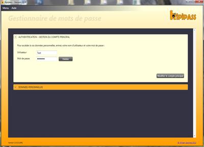 Capture d'écran KIPIPASS