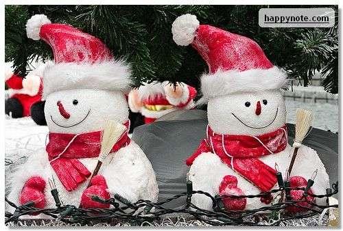 Capture d'écran Noël 2011 Ecran de Veille HN