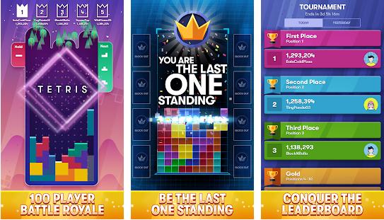 Capture d'écran Tetris Royale Android