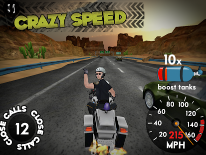 Capture d'écran Highway Rider