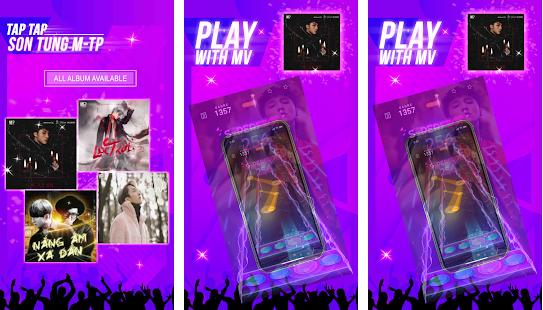 Capture d'écran Tap Tap Tap feat. Son Tung M-TP Android