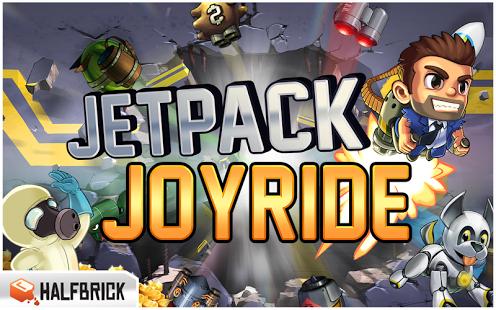 Capture d'écran Jetpack Joyride