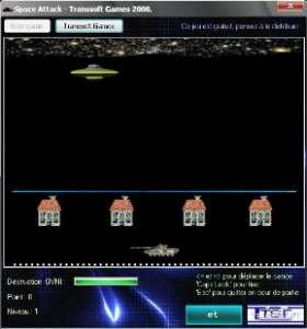 Capture d'écran Space Attack