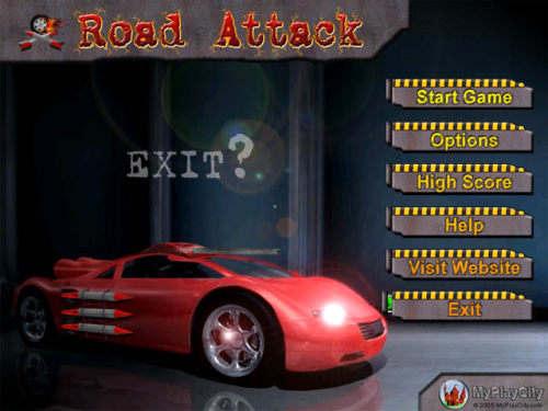 Capture d'écran Road Attack