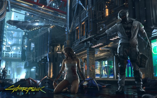 Capture d'écran Cyberpunk 2077