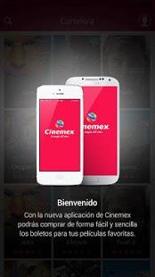 Capture d'écran Cinemex