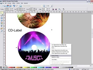 Capture d'écran MAGIX Xtreme Print Studio