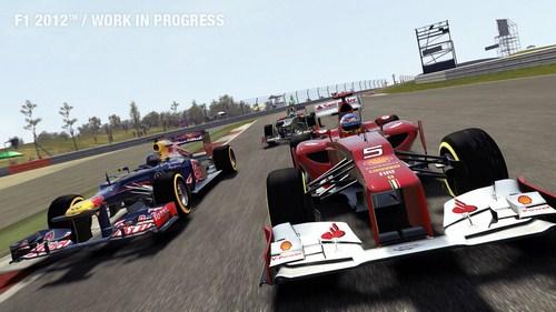 Capture d'écran F1 2012