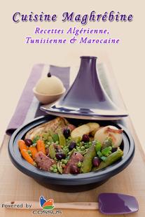 Capture d'écran Cuisine Maghrébine