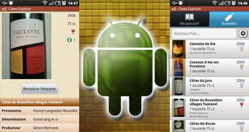 Capture d'écran Caves-Explorer Phone