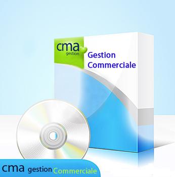 Capture d'écran CMA Gestion Commerciale