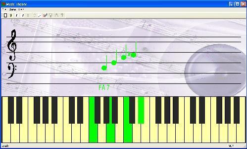 Capture d'écran Solfège, écoute, lecture et dictée musicale