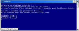 Capture d'écran Combofix