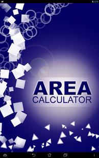 Capture d'écran Area Calculator