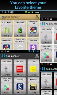 Capture d'écran AppMgr Pro III (App 2 SD)