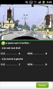 Capture d'écran Test Code Route Lite