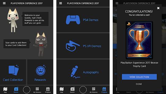 Capture d'écran Experience Playstation iOS