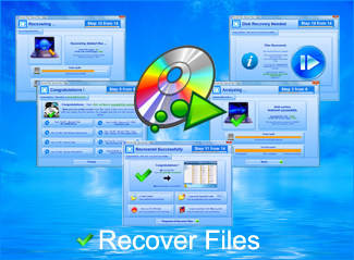 Capture d'écran Recover Files from CD DVD Blu Ray