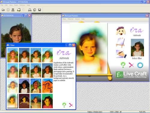 Capture d'écran Virtual Painter
