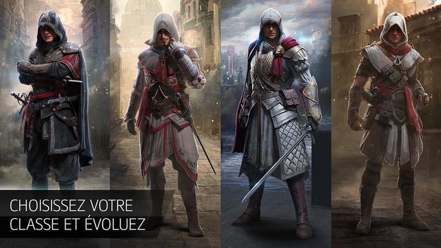 Capture d'écran Assassin's Creed identity iOS