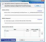 Capture d'écran Vista Dual Scan