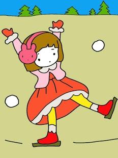 Capture d'écran Coloring Book: Sweet Doll