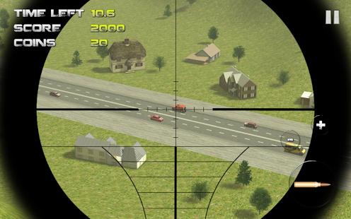 Capture d'écran Sniper: Traffic Hunter