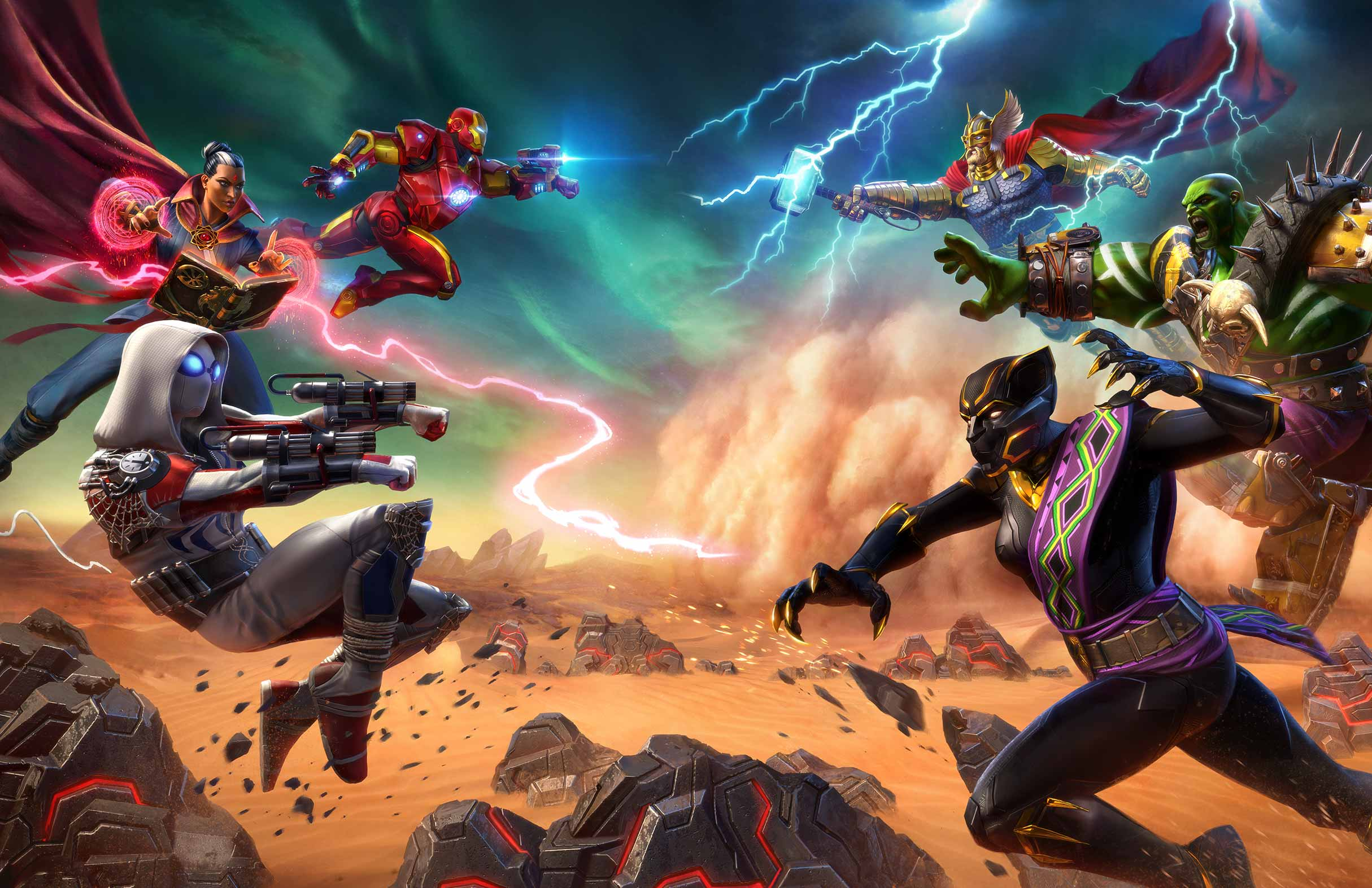Capture d'écran Marvel Realm of Champions Android