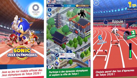 Capture d'écran Sonic aux Jeux Olympiques de Tokyo 2020 Android