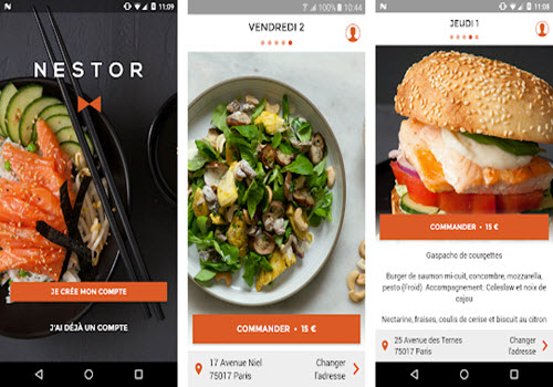 Capture d'écran Nestor Android