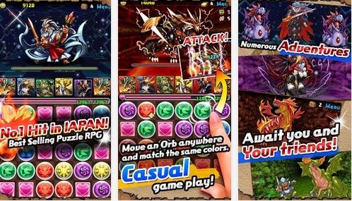 Capture d'écran Puzzle And Dragons iOS