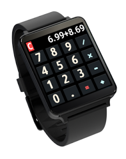 Capture d'écran Calculette – Android Wear