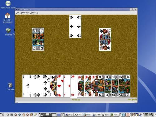 Capture d'écran BzTarot pour linux