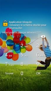 Capture d'écran Perfect App Lock (frança)