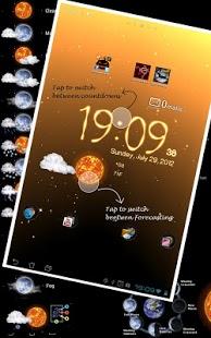 Capture d'écran Météo Live Wallpaper