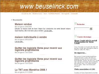 Capture d'écran BzCrédit pour Linux