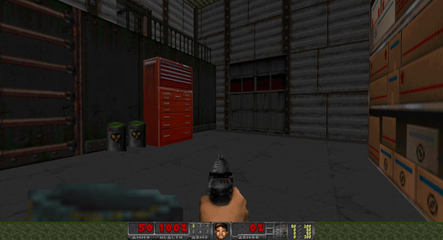 Capture d'écran FreeDoom